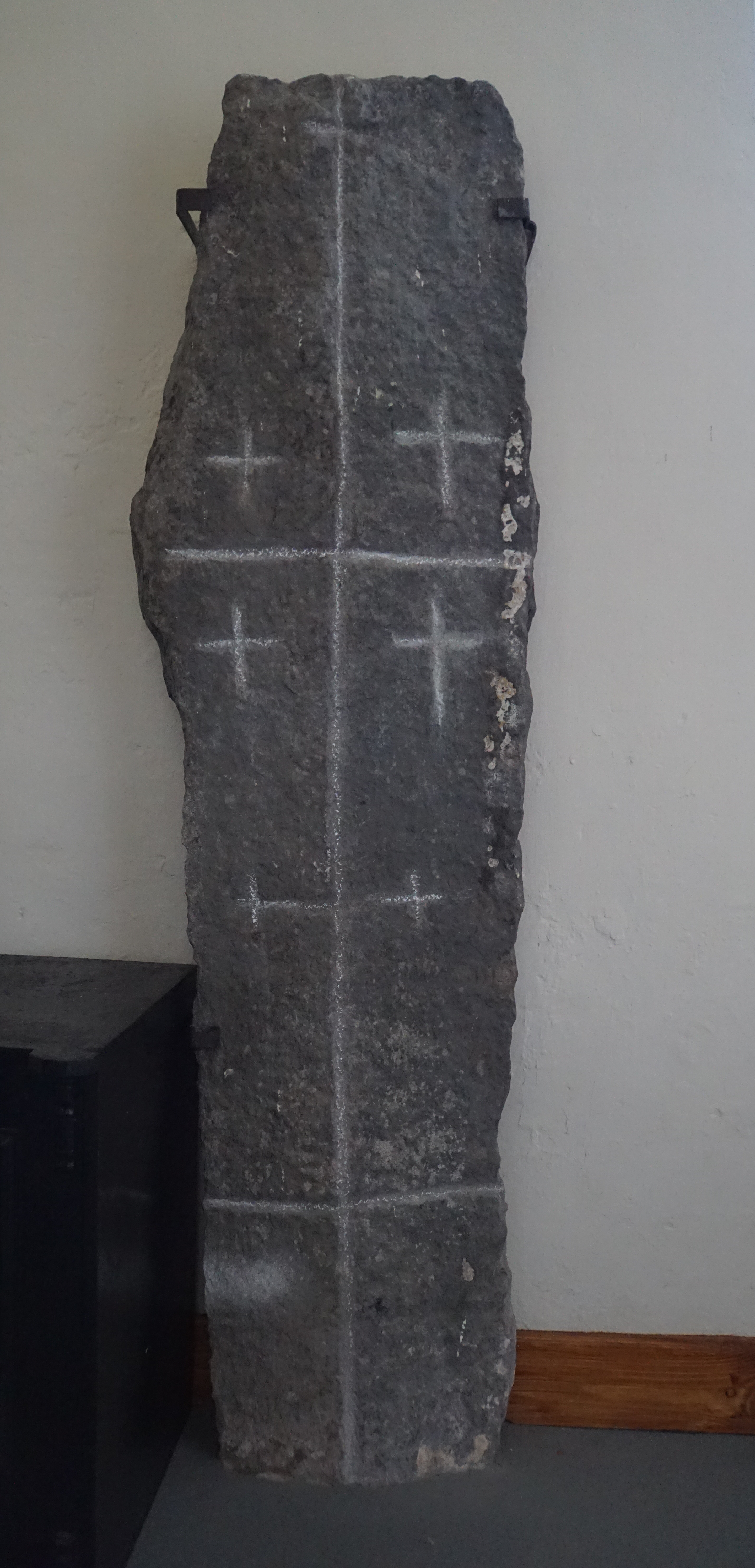 The Celtice Stone from the front.