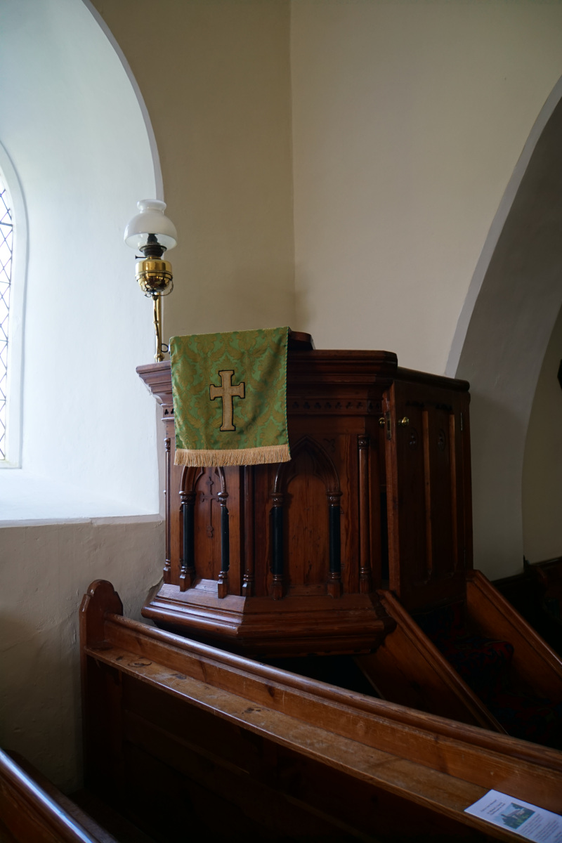 The Pulpit St Michael's Church